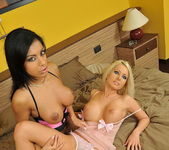 Lesbian Action with Kyra Black & Adelle 2