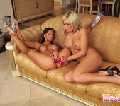 Christina Bella & Adriana Russo Eating Each Other Out 13