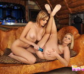 Lesbian Action with Cherie & Bianca Golden 14