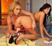 Kathia Nobili & Madison Parker Eating Each Other Out 5