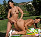 Eve Angel & Simone Peach Playing Lesbians 18