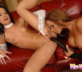 Lesbian Sex with Christina Bella & Suzy Black 14