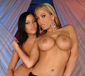 Candy Strong & Angelica Heart Toying Lesbians 2