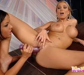 Candy Strong & Angelica Heart Toying Lesbians 17