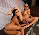 Candy Strong & Angelica Heart Toying Lesbians 20