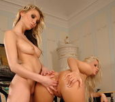 Lesbian Action with Brigit & Gia 13