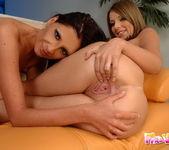 Horny Lesbians Bambi & Debbie White 19