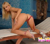 Nancy Bell Playing with her toys 4