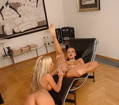Dorothy Black & Adriana Russo Eating Pussy 17
