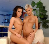 Lesbian Action with Lara Amour & Eve Smile 20
