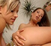 Horny Lesbians Candy & Lara Craft 16