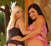 Lora Black & Alexis Toying Lesbians 2