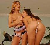 Lesbian Action with Betty Saint & Zafira 7