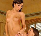 Eve Angel & Aisha Eating Each Other Out 7