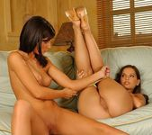 Eve Angel & Aisha Eating Each Other Out 11