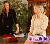 Dirty Lesbians Sandra Shine & Alyssa 4