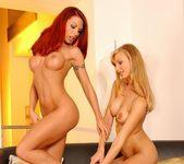 Sonya & Alexandra Licking Pussy 11