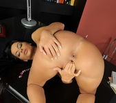 Black Angelika Playing with her pussy - Playful Hands 16