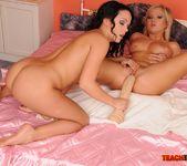 Angelina Wild & Sunny Diamond Girl on Girl Fisting 10