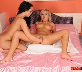 Angelina Wild & Sunny Diamond Girl on Girl Fisting 17