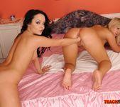 Angelina Wild & Sunny Diamond Girl on Girl Fisting 27