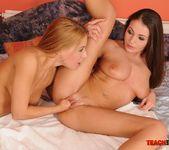 Nastie & Destiny Fisting Lesbians - Teach Me Fisting 13