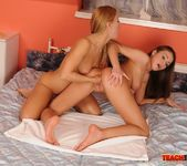 Nastie & Destiny Fisting Lesbians - Teach Me Fisting 16