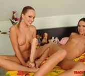 Blue Angel & Nataly Gold Girl on Girl Fisting 9