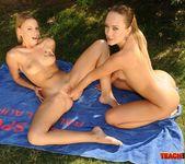 Blue Angel & Berinice - Lesbian Fisting - Teach Me Fisting 17