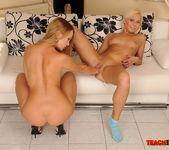 Blue Angel & Lisa Fisting Lesbians - Teach Me Fisting 13