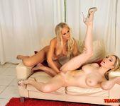 Barbie White & Lily LaBeau Fisting Lesbians 13