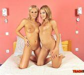 Berinice & Barbie White Girl on Girl Fisting 5