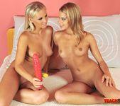 Berinice & Barbie White Girl on Girl Fisting 6