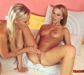 Berinice & Barbie White Girl on Girl Fisting 8