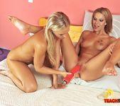 Berinice & Barbie White Girl on Girl Fisting 9