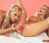 Berinice & Barbie White Girl on Girl Fisting 11