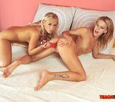Berinice & Barbie White Girl on Girl Fisting 14