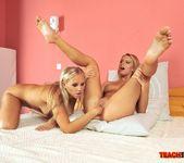 Berinice & Barbie White Girl on Girl Fisting 15