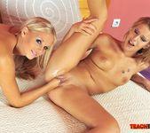 Berinice & Barbie White Girl on Girl Fisting 16