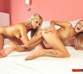 Berinice & Barbie White Girl on Girl Fisting 19