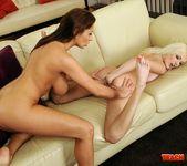 Bianca Golden & Alison Star Girl on Girl Fisting 7