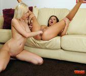 Bianca Golden & Alison Star Girl on Girl Fisting 10