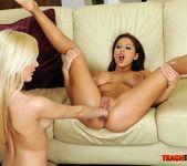 Bianca Golden & Alison Star Girl on Girl Fisting 11