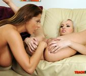 Bianca Golden & Alison Star Girl on Girl Fisting 15