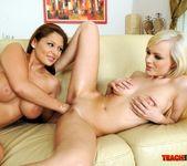 Bianca Golden & Alison Star Girl on Girl Fisting 18
