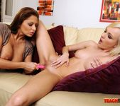 Bianca Golden & Alison Star Fisting Each Other 11