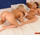 Barbie White & Alison Star Girl on Girl Fisting 11