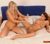 Barbie White & Alison Star Girl on Girl Fisting 13