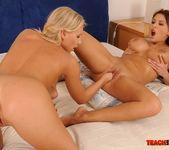 Barbie White & Alison Star Girl on Girl Fisting 15