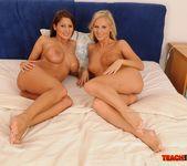 Barbie White & Alison Star Girl on Girl Fisting 20